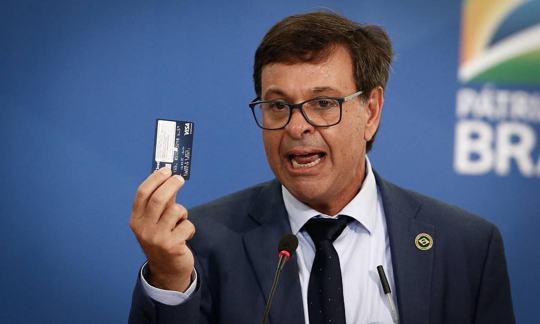 O ministro do Turismo, Gilson Machado Neto, no Palácio do Planalto Foto: Pablo Jacob/Agência O Globo