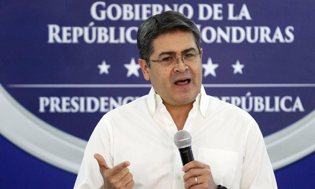 O presidente de Honduras, Juan Orlando Hernández Foto: Jorge Cabrera/REUTERS