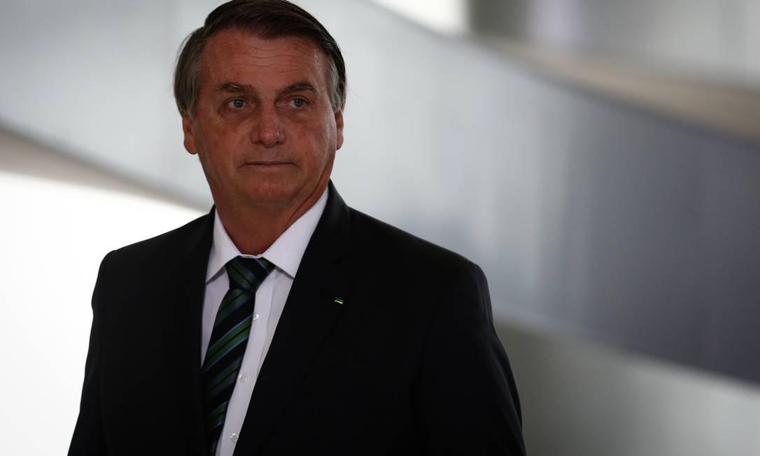 O presidente Jair Bolsonaro sancionou o Fundeb nesta sexta-feira Foto: Pablo Jacob / Agência O Globo