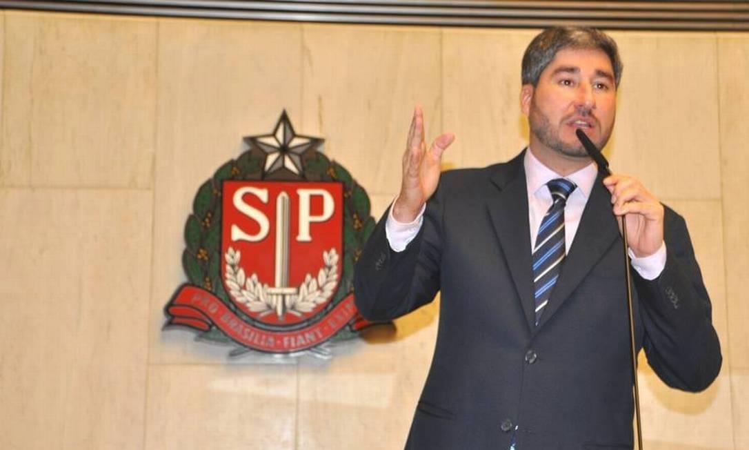 O deputado estadual de São Paulo Fernando Cury (Cidadania) Foto: Facebook/ Divulgação