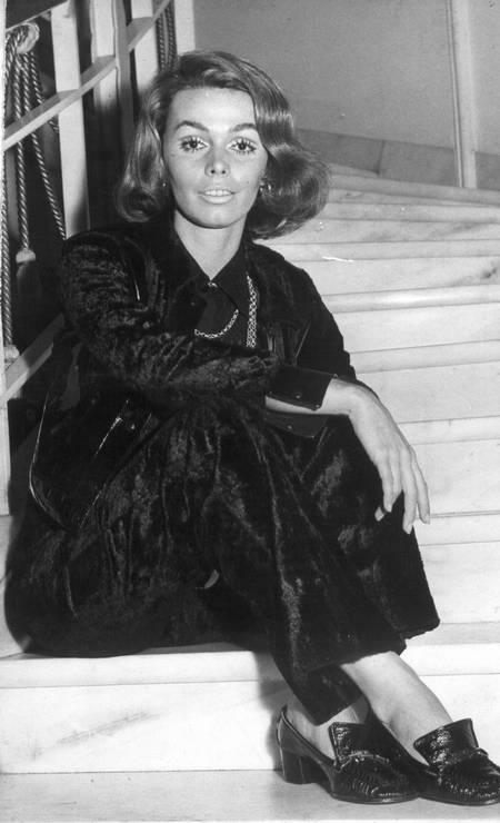 Ângela Diniz, assassinada pelo marido em 1976 Foto: Arquivo