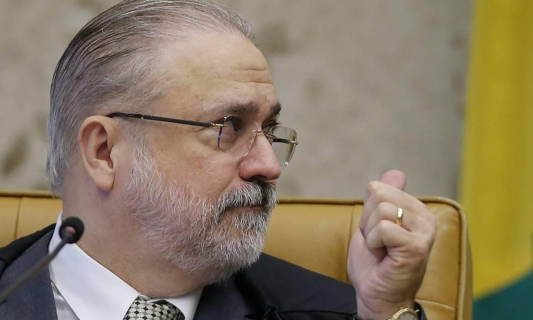 O procurador-Geral da República, Augusto Aras Foto: Jorge William/Agência O Globo