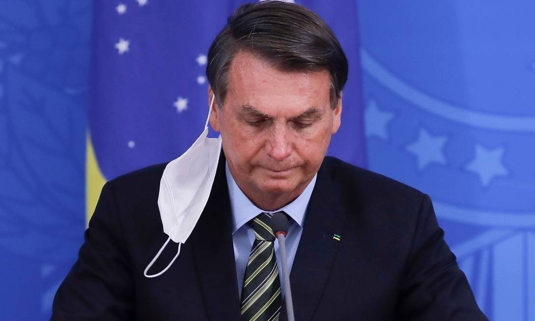 Presidente Jair Bolsonaro Foto: SERGIO LIMA/AFP