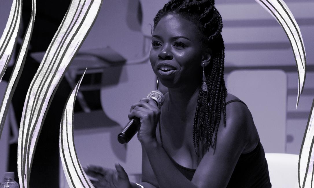 Com mais de 620 mil inscritos no seu canal, Gabi Oliveira levanta discussões sobre questões raciais no Brasil. Foto: Adriana Lorete / Agência O Globo