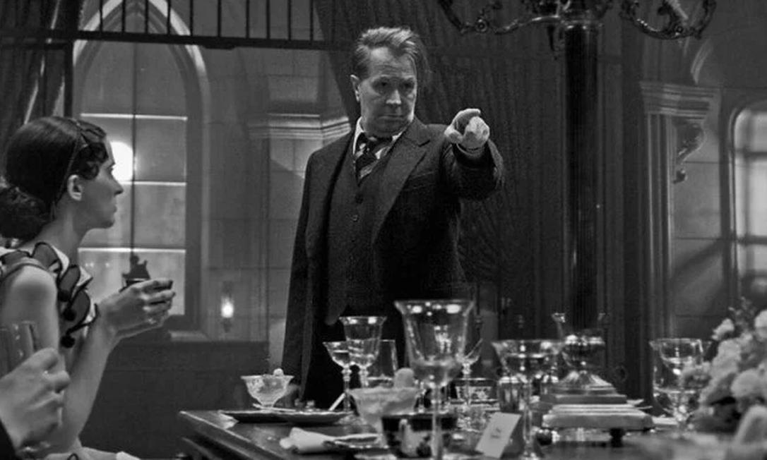 Cena do filme 'Mank' (2020), de David Fincher Foto: Divulgação Netflix