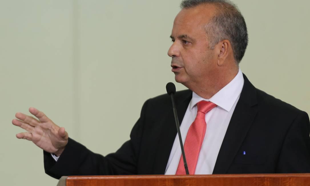 Marinho disse que um embate com o Ministério da Economia é 'natural' Foto: Jorge William / Agência O Globo