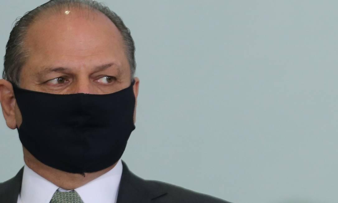 O líder do governo na Câmara, Ricardo Barros (PP-PR), se posicionou em rede sociaL Foto: Jorge William / Agência O Globo