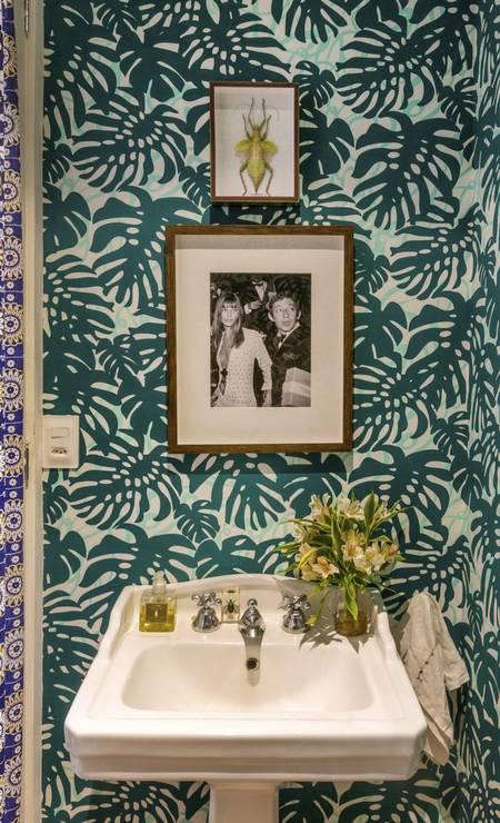 Lavabo de Isabela Capeto assinado pela Ouriço Arquitetura e Design Foto: Divulgação