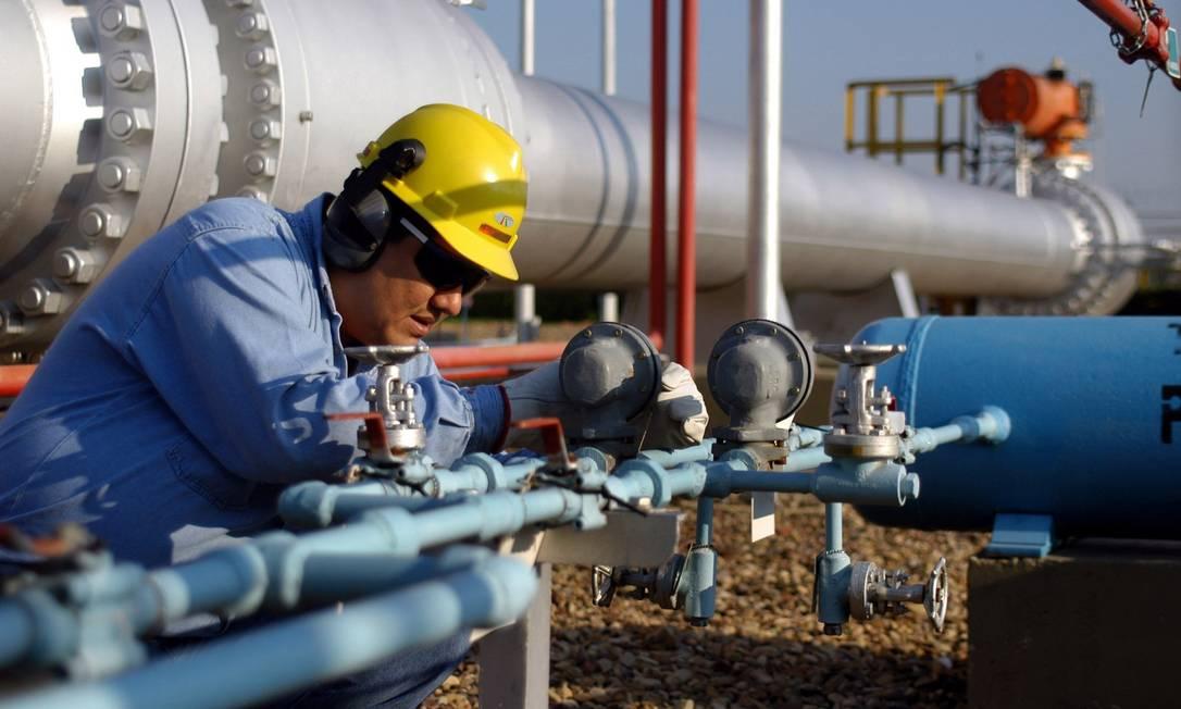 Petrobras venderá a sua participação no asoduto Brasil-Bolívia Foto: Diego Giudice / Diego Giudice/Bloomberg