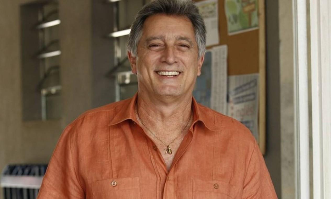 O ator Eduardo Galvão morreu no dia 7 de dezembro, de Covid-19 Foto: Raphael Dias/TV Globo