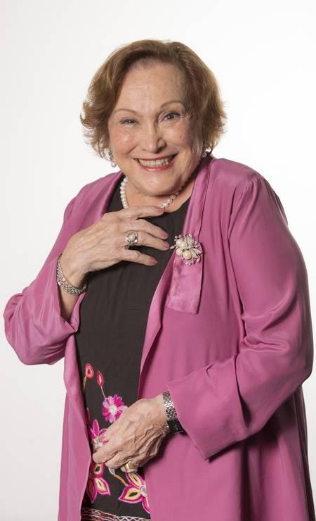 A atriz Nicette Bruno morreu aos 87 anos, por complicações da Covid-19, no dia 20 de dezembro Foto: Paula Kossatz / Divulgação