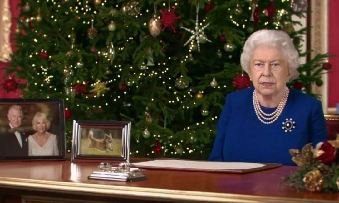 A rainha em versão 'deepfake' se parece muito com a real Foto: Channel 4