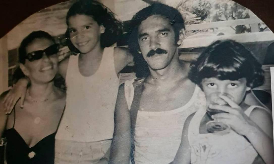 Marília, Cecília, Moraes e Davi Foto: reprodução