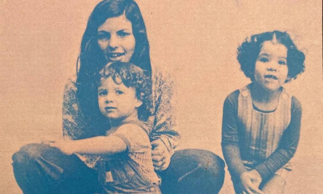 Marília, Davi e Cecília Foto: reprodução