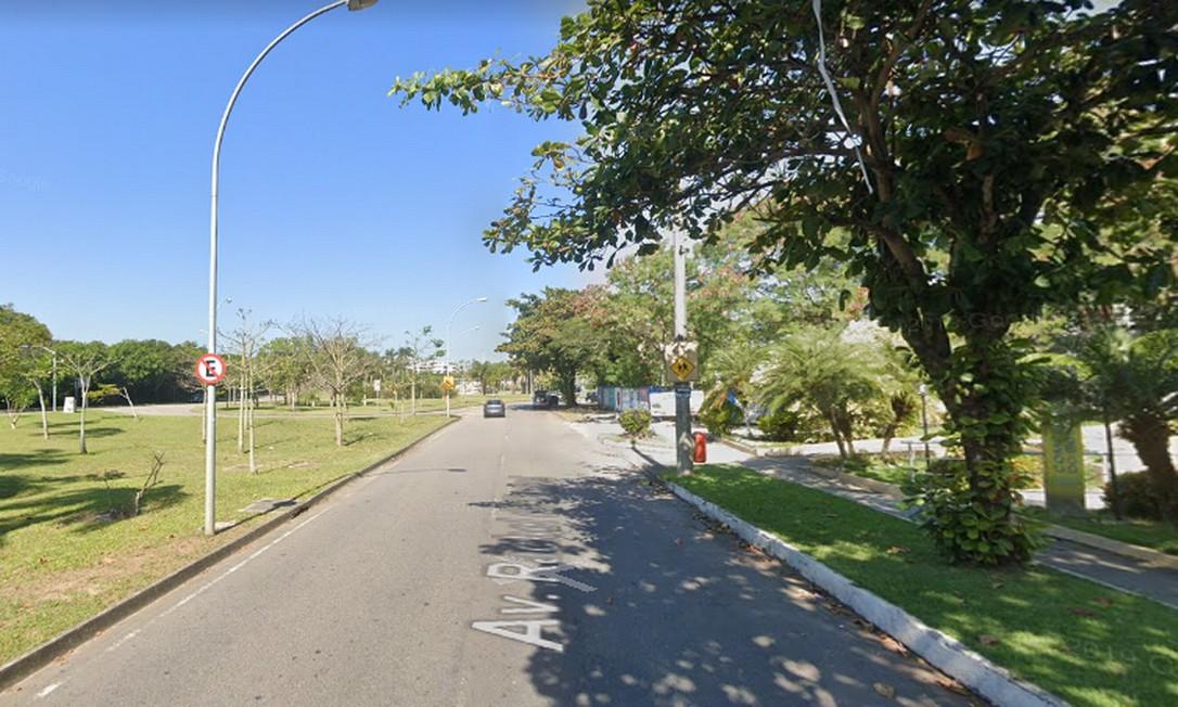 Rua Raquel de Queiroz, na Barra da Tijuca Foto: Reprodução / Google Maps