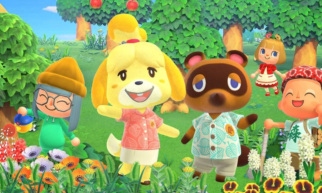 Animal Crossing vira o game da vez ao oferecer ilha da fantasia para confinados Foto: Divulgação