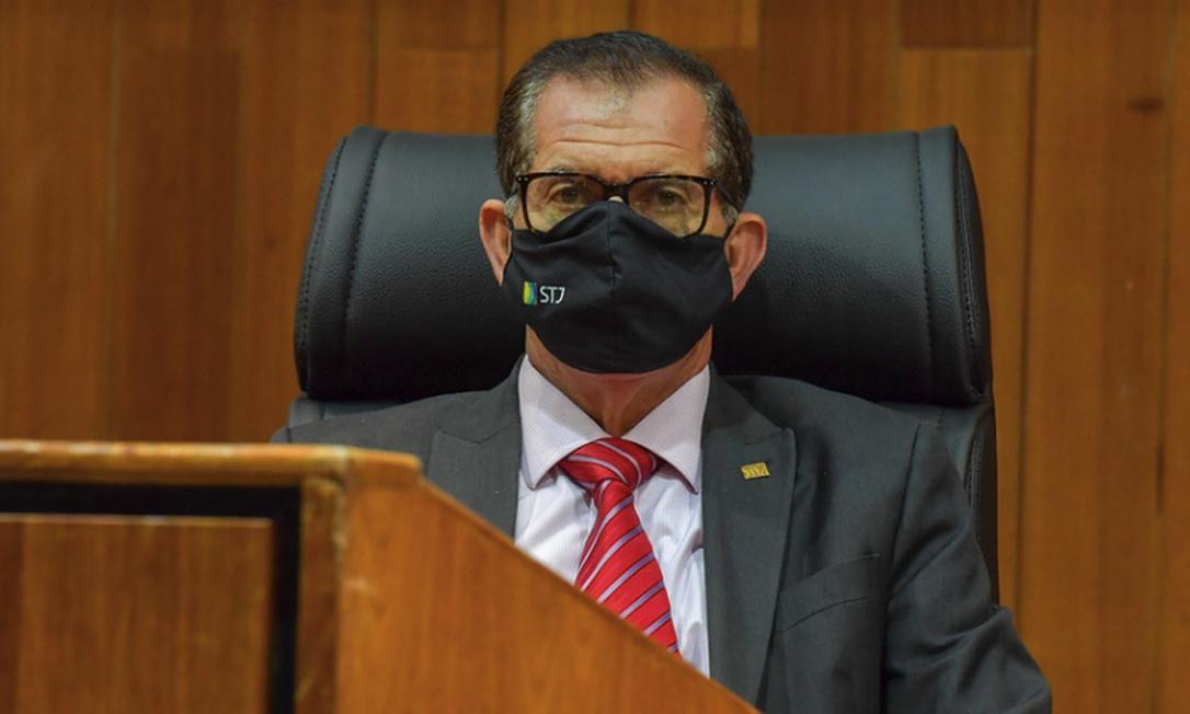 Presidente do STJ, ministro Humberto Martins Foto: Emerson Leal / Divulgação - STJ