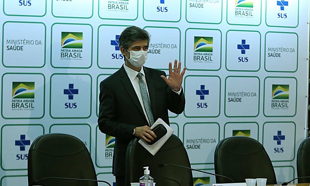 Ex-ministro da Saúde Nelson Teich. Foto: Jorge William / Agência O Globo