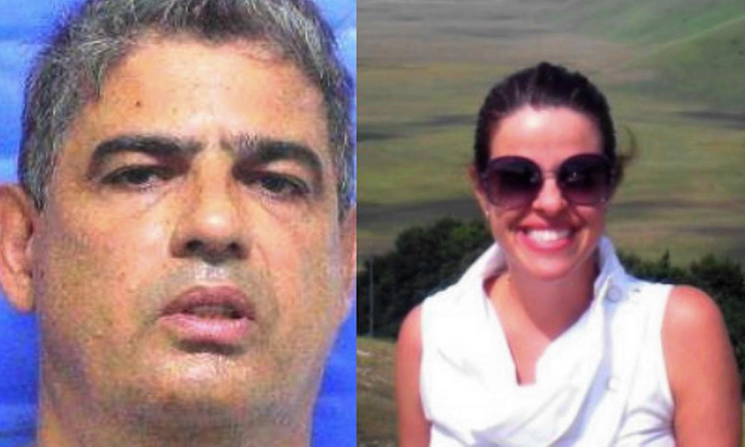 Paulo Arronenzi, preso por matar a ex-mulher Viviane Vieira do Amaral na frente das filhas Foto: Reprodução