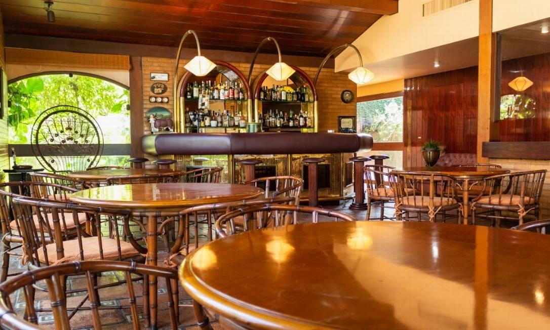 O último andar também conta com um bar próprio Foto: Divulgação / HM Top Real Estate