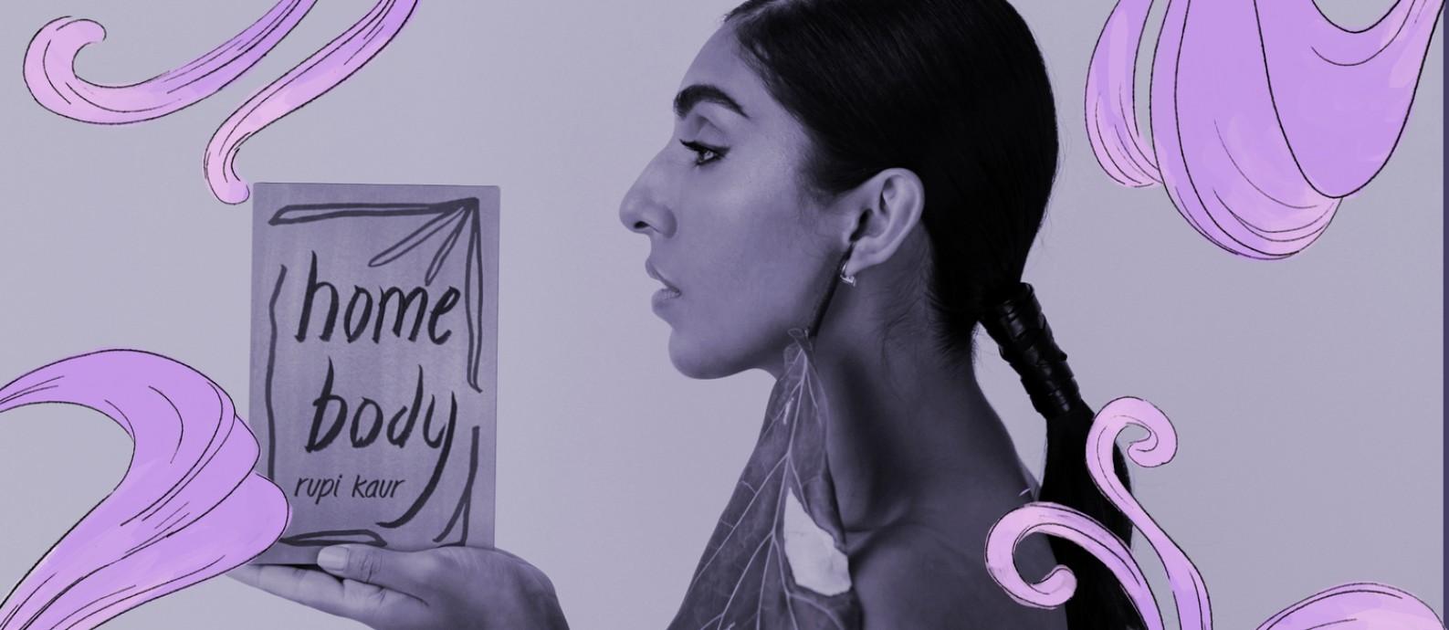 Rupi Kaur lança sua terceira coletânia de poemas 'Meu corpo minha casa' Foto: Divulgação