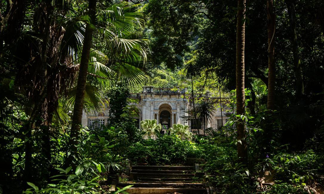No Parque Lage, as doações são destinadas a projetos de formação de artistas, exposições e projeção de filmes Foto: Hermes de Paula / Agencia O Glob / Hermes de Paula/25-11-2020