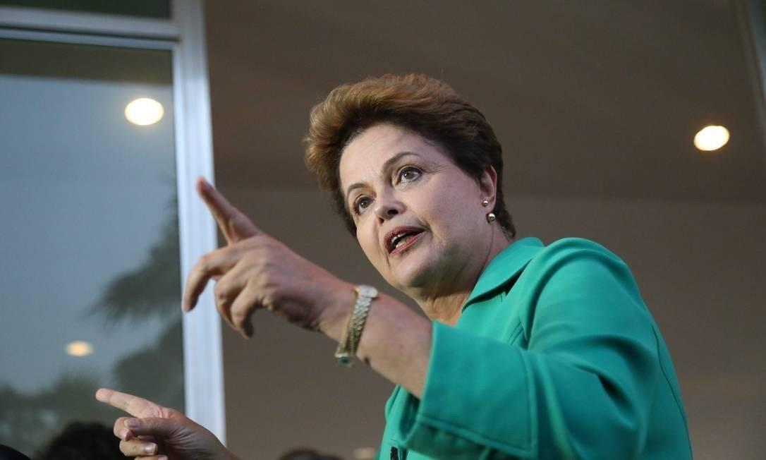 A ex-presidente Dilma Rousseff Foto: André Coelho / Agência O Globo