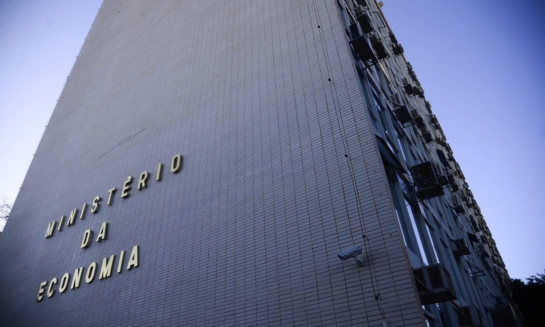 Sede do Ministério da Eeconomia, em Brasília Foto: Marcello Casal Jr / Agência Brasil