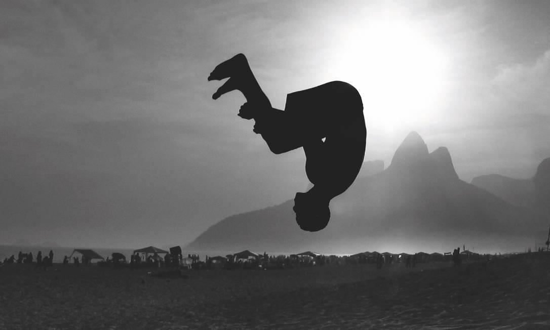 O Arpoador por Frederico Mendes: 'para mim sempre foi a praia da liberdade', diz o fotógrafo Foto: Frederico Mendes / Divulgação