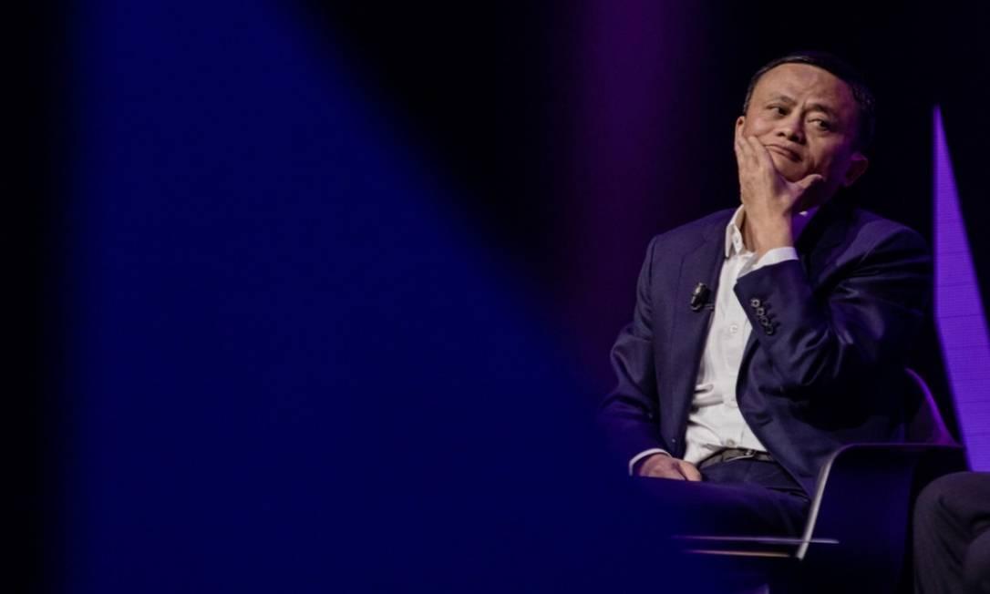 Apesar do maior controle exercido pelo governo chinês, o patrimônio líquido de Ma aumentou US$ 4,3 bilhões Foto: Bloomberg