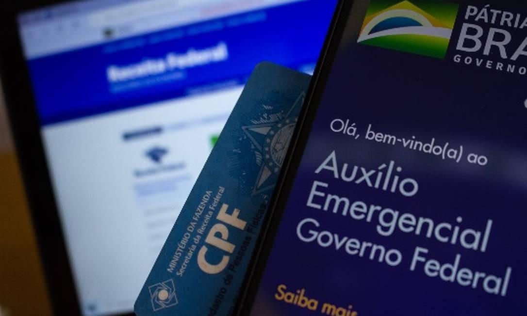 Pagamento do auxílio emergencial de R$ 300 encerrou em dezembro Foto: Agência O Globo