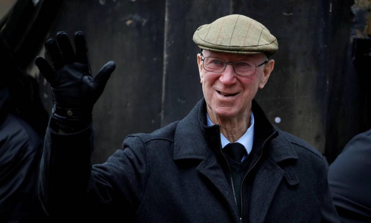 10/7 - Jack Charlton. Campeão mundial pela Inglaterra, aos 85 anos, de linfoma Foto: Phil Noble / Reuters