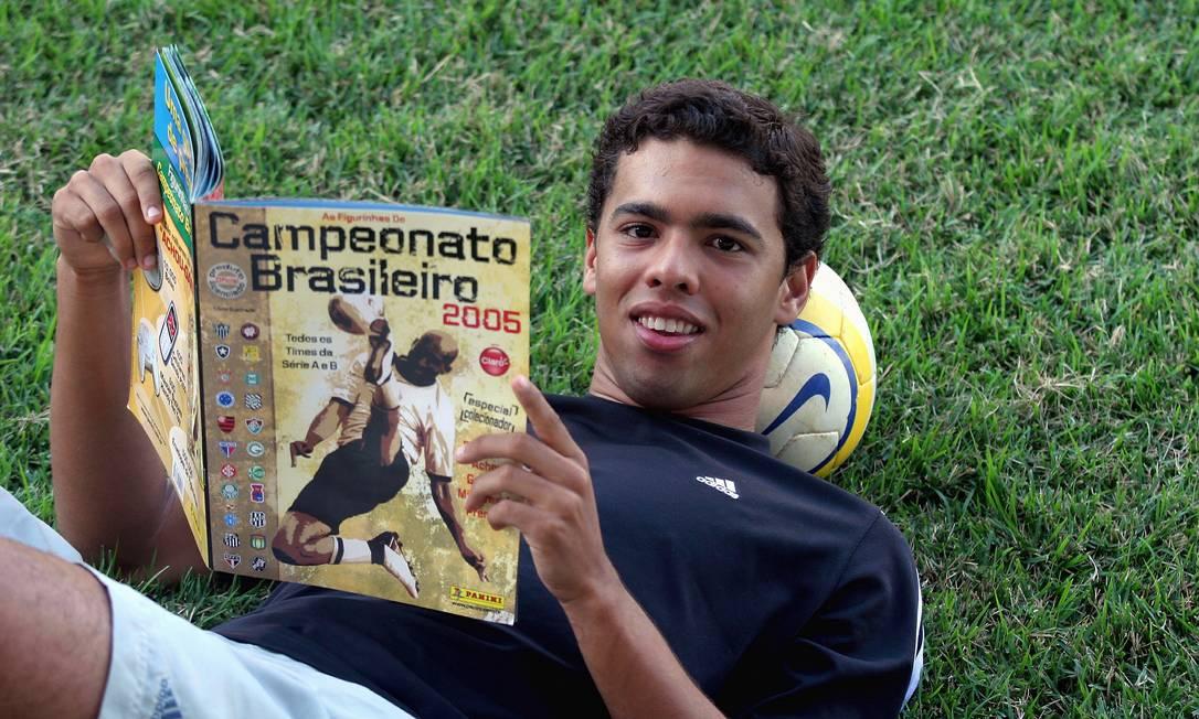 4/10 - Rafael Coutinho, ex-Vasco, aos 36, de infarto Foto: Marcos Cruz / Agência O Globo