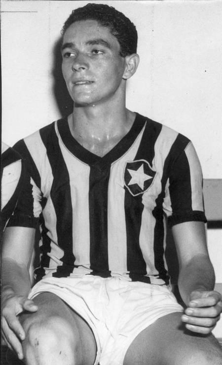 11/10 - Foto cortesía de Dino da Costa, ex-Botapogo y Roma, 89: Archivo / Agensia o Globo