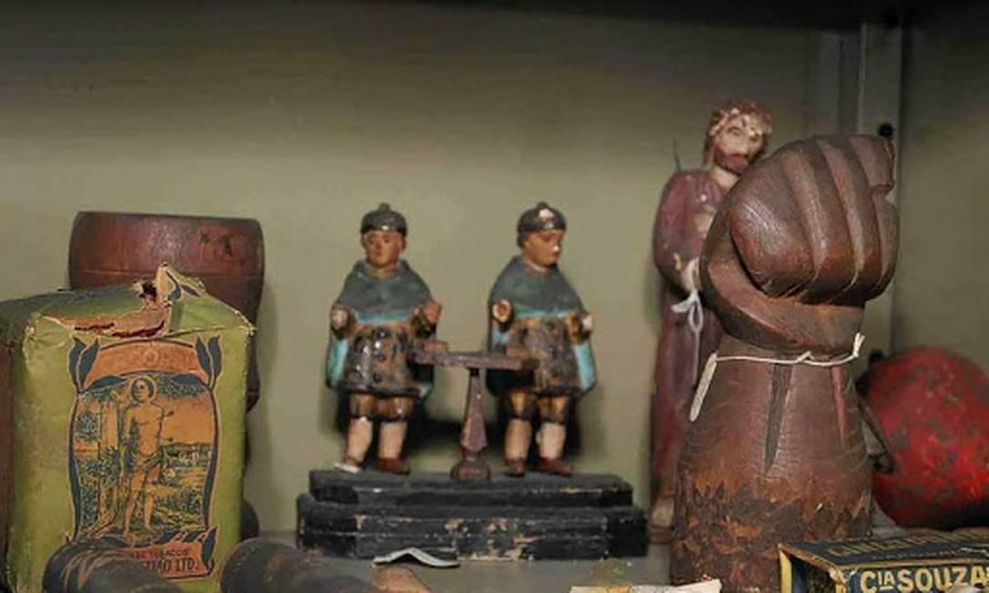 Parte da coleção do Museu de Magia Negra Foto: Divulgação/Iphan