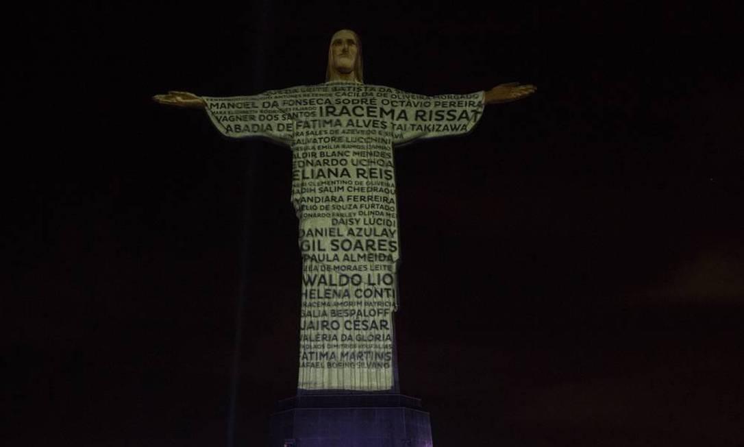 Show no Cristo Redentor para celebrar chegada de 2021 pode não acontecer Foto: Guito Moreto