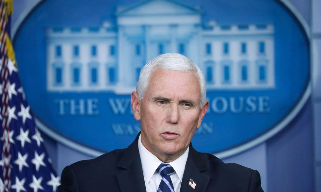 O vice-presidente dos EUA, Mike Pence Foto: Leah Millis / Reuters