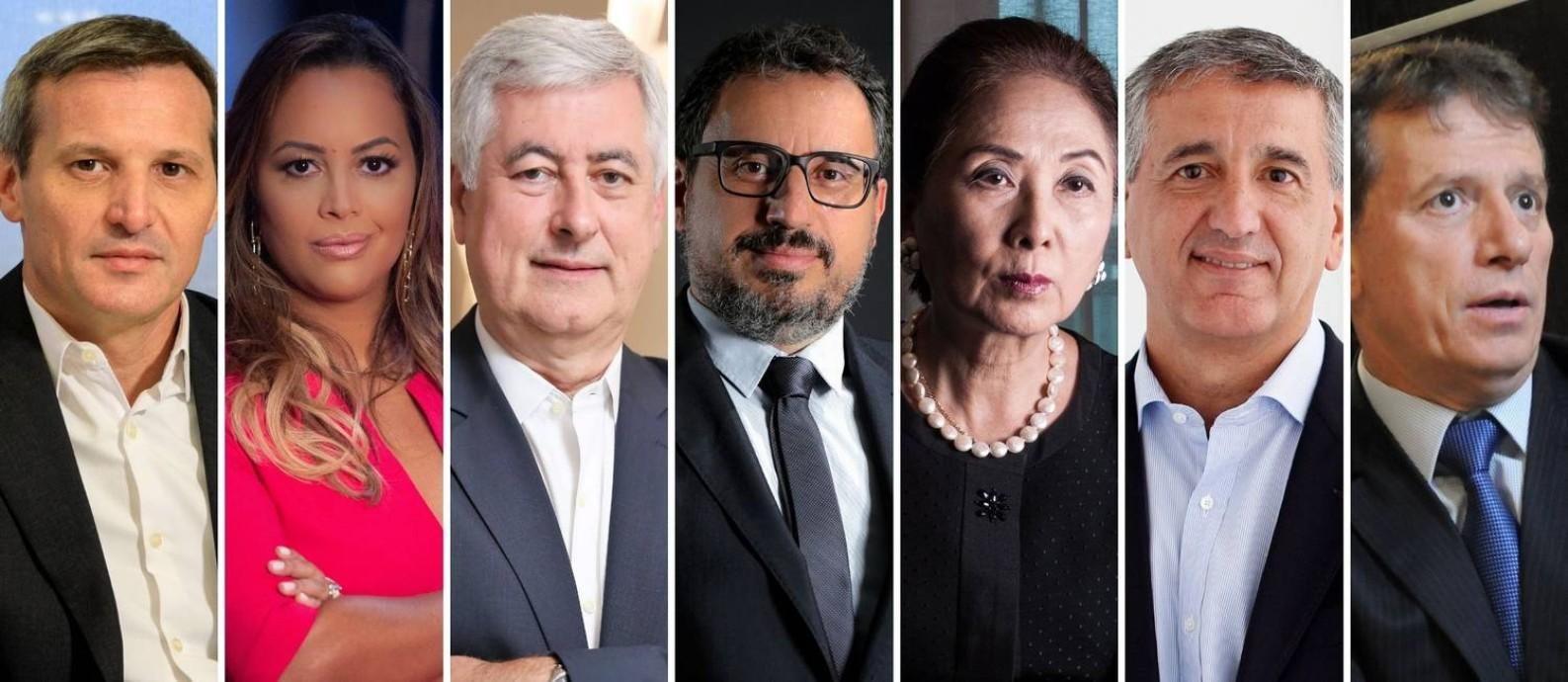 Líderes empresariais ouvidos pelo GLOBO esperam vacina e reformas para retomada do crescimento da economia este ano Foto: Editoria de Fotografia