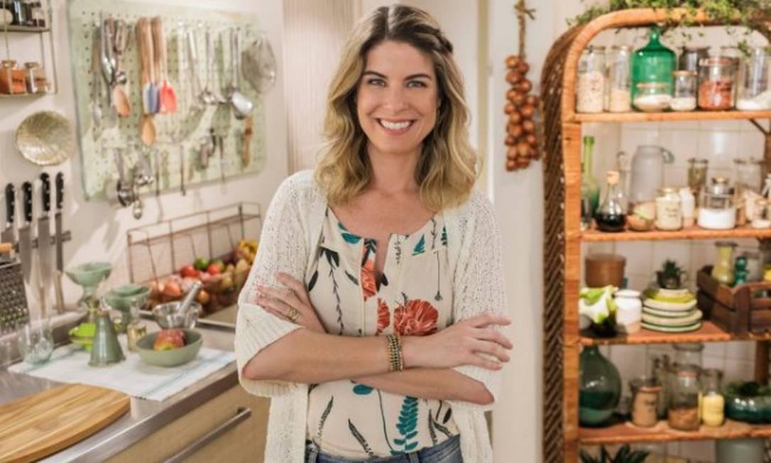 Rita Lobo: em vídeo, a apresentadora ensina preparos com abacate Foto: divulgação