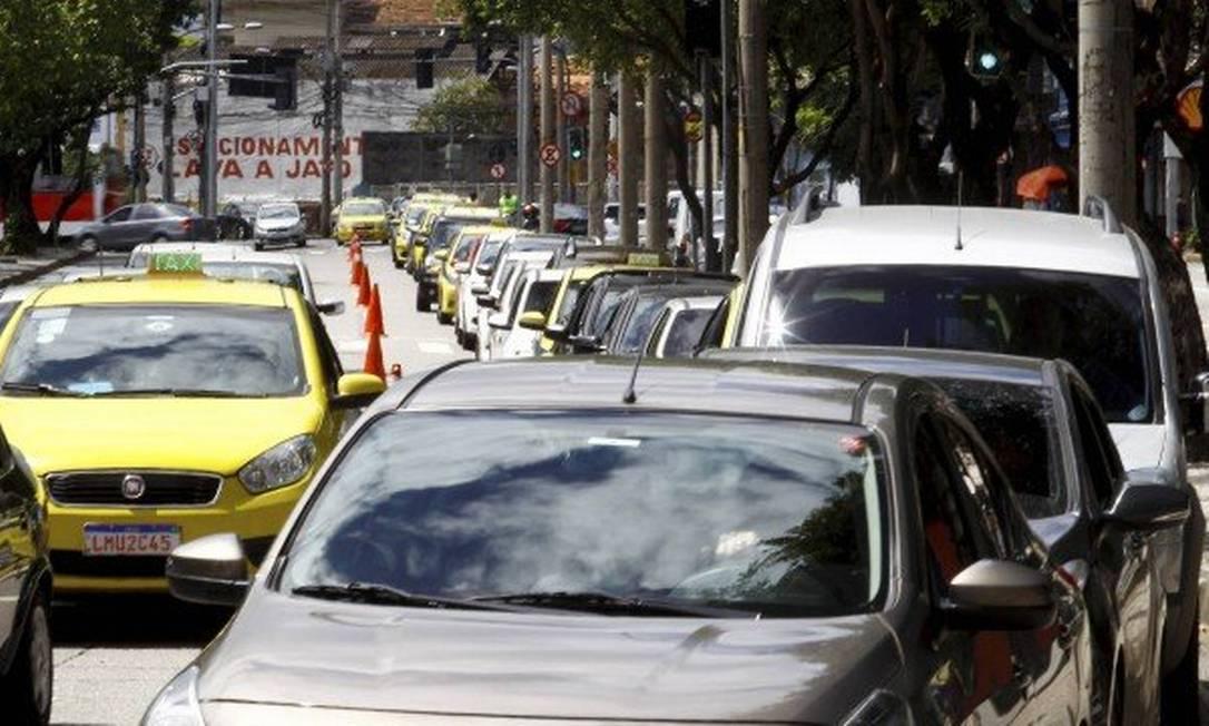 Guia de pagamento do IPVA 2021 pode ser emitida a partir de terça-feira (12) Foto: Guilherme Pinto / Agência O Globo