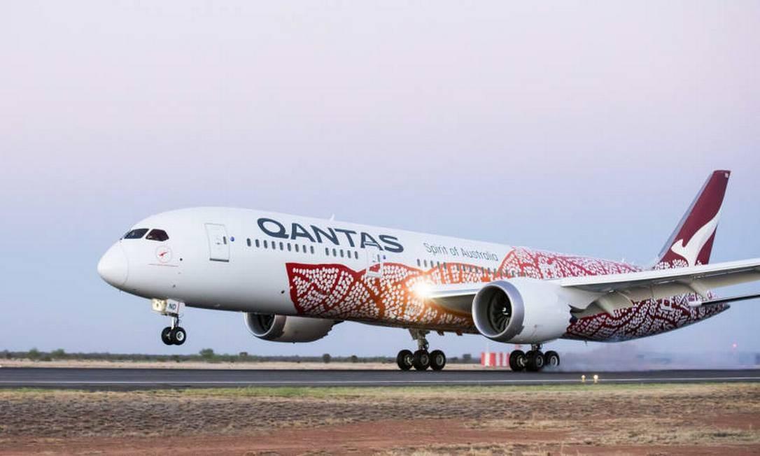 Qantas venceu o ranking Foto: Divulgação/AirlineRatings