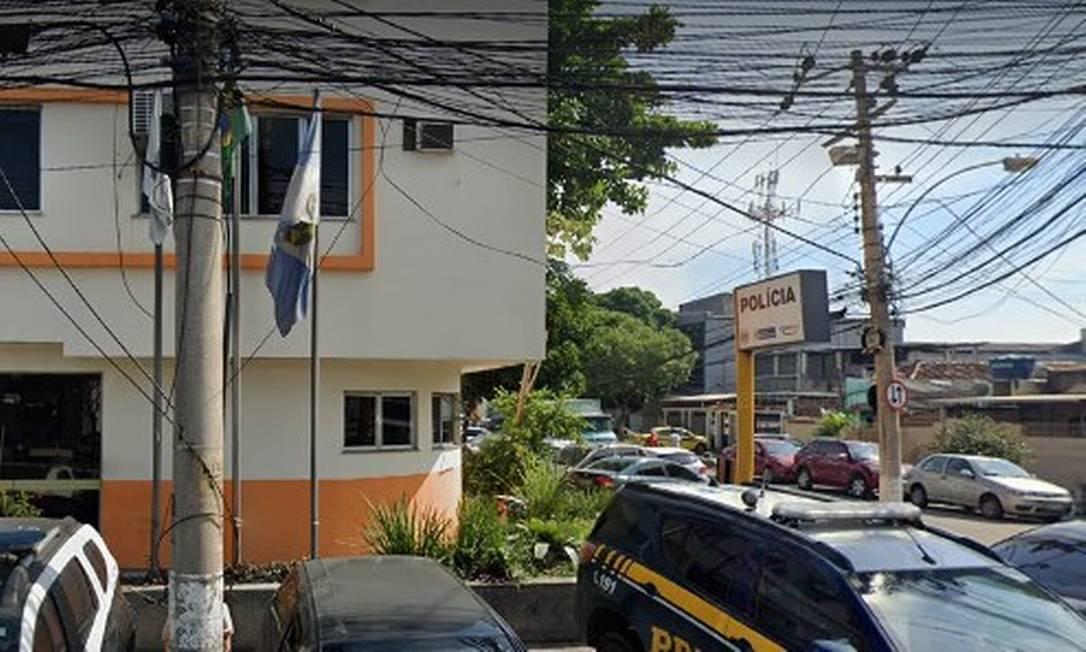 A 22ª DP, que investiga o crime Foto: Google Street View / Reprodução