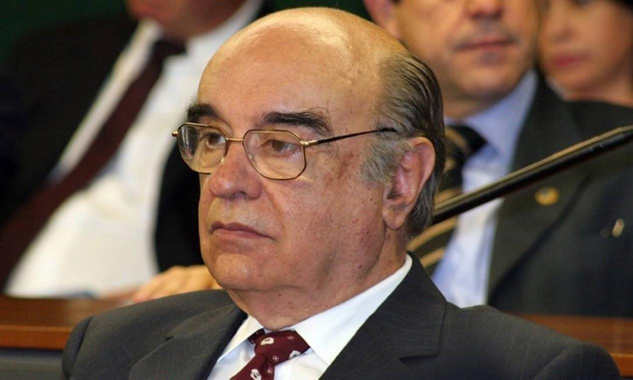 O ex-deputado Bonifácio Andrada (PSDB-MG) morreu aos 90 anos com complicações da Covid Foto: Divulgação/PSDB