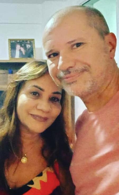Casal Alexandre e Maria Cristina: os dois morreram após terem sido atropelados pelo jogador Marcinho, ex-Botafogo Foto: Arquivo pessoal