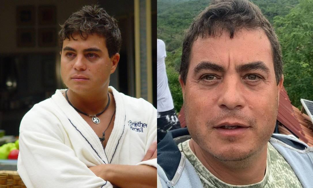 Após vencer o 'BBB 3', Dhomini investiu na carreira musical, mas não deu certo. Hoje, ele incentiva o turismo em Goiás Foto: Reprodução