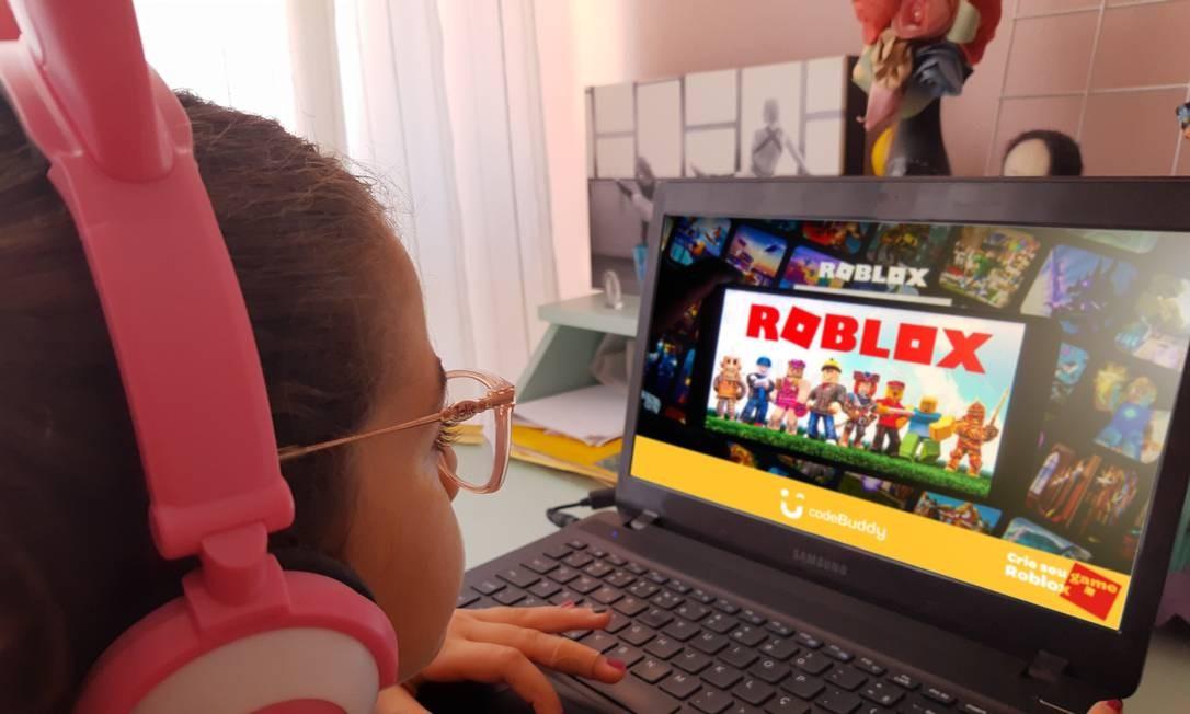 Catarina Jorge, de 9 anos, quer se especializar em produção de conteúdo para o YouTube Foto: Divulgação
