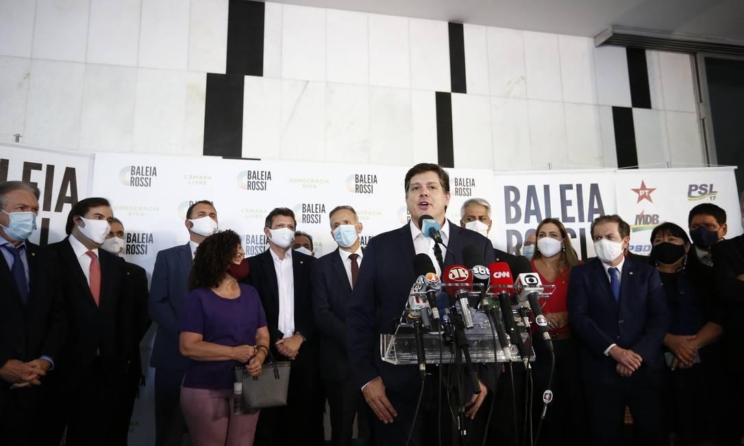 Baleia Rossi lança candidatura à presidência da Câmara Foto: Pablo Jacob / Pablo Jacob