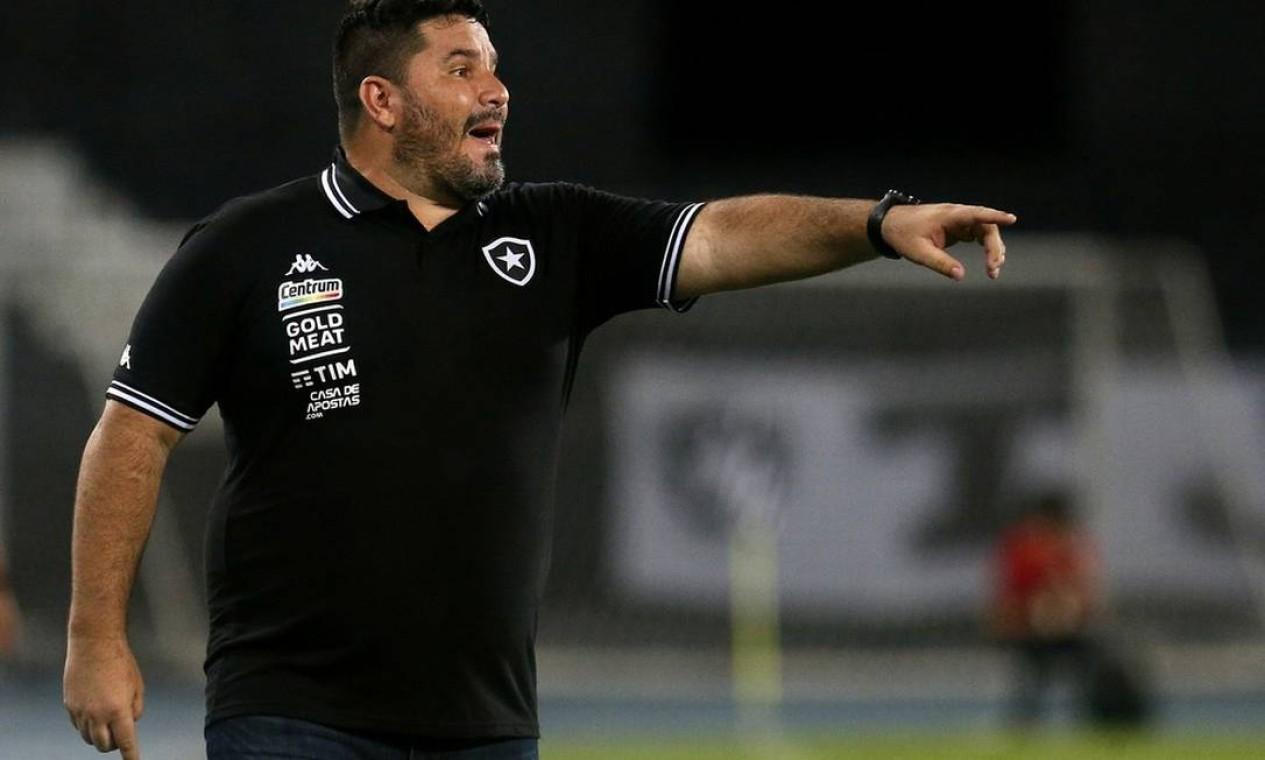 EDUARDO BARROCA (BOTAFOGO) - 34ª RODADA: Em 6 de fevereiro, Barroca não resistiu ao rebaixamento e foi demitido após 10 derrotas, 1 vitória e 1 empate. Foto: Foto: Vitor Silva/Botafogo