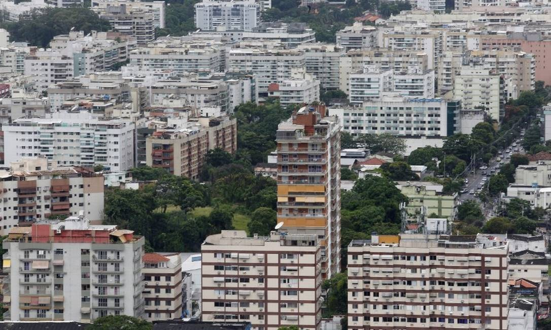 O IPTU de 2021 terá um reajuste de 4,23% no Rio Foto: Guilherme Pinto em 12\02\2020 / Agência O Globo