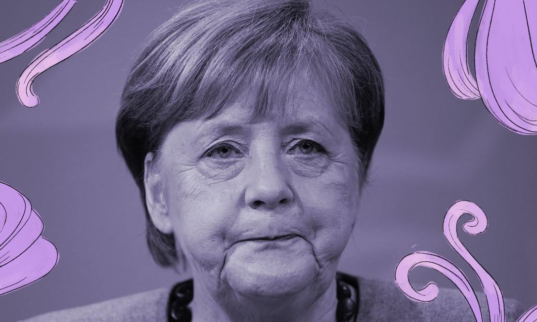 Nova lei vai obrigar grandes empresas alemãs a ter mulheres em seus conselhos de administração. A chanceler Angela Merkel manifestou frustração com o ritmo lento das empresas em nomear mulheres em postos de liderança Foto: Michael Kappeler / POOL / AFP